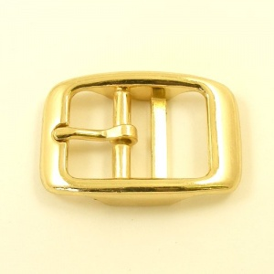 Cavesson Double Bar Buckle Brassed 25mm